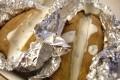 Patate al cartoccio con panna aromatica