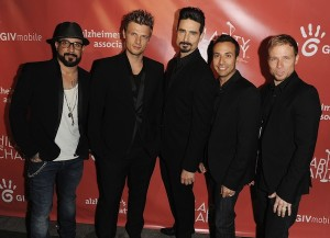 Hilarity For Charity Benefiting The Alzheimer's Association Featuring: AJ McLean,Nick Carter,Kevin Richardson,Howie Dorough,Brien Littrell Backstreet Boys Where: Los Angeles, CA, United States When: 25 Apr 2013 Credit: Daniel Tanner/WENN.com